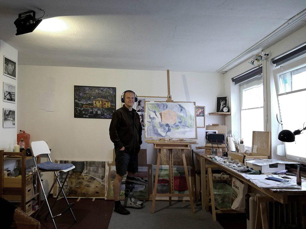 Im Atelier mit ... Fuß